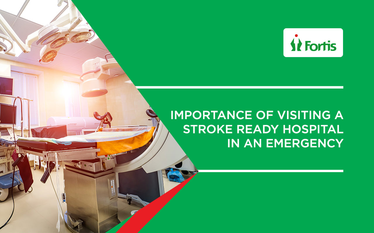 Importance of visiting a Stroke ready hospital in an emergency