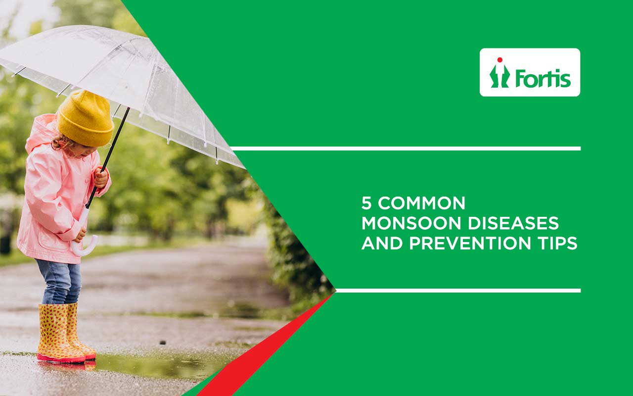 Common Monsoon Diseases and Prevention Tips