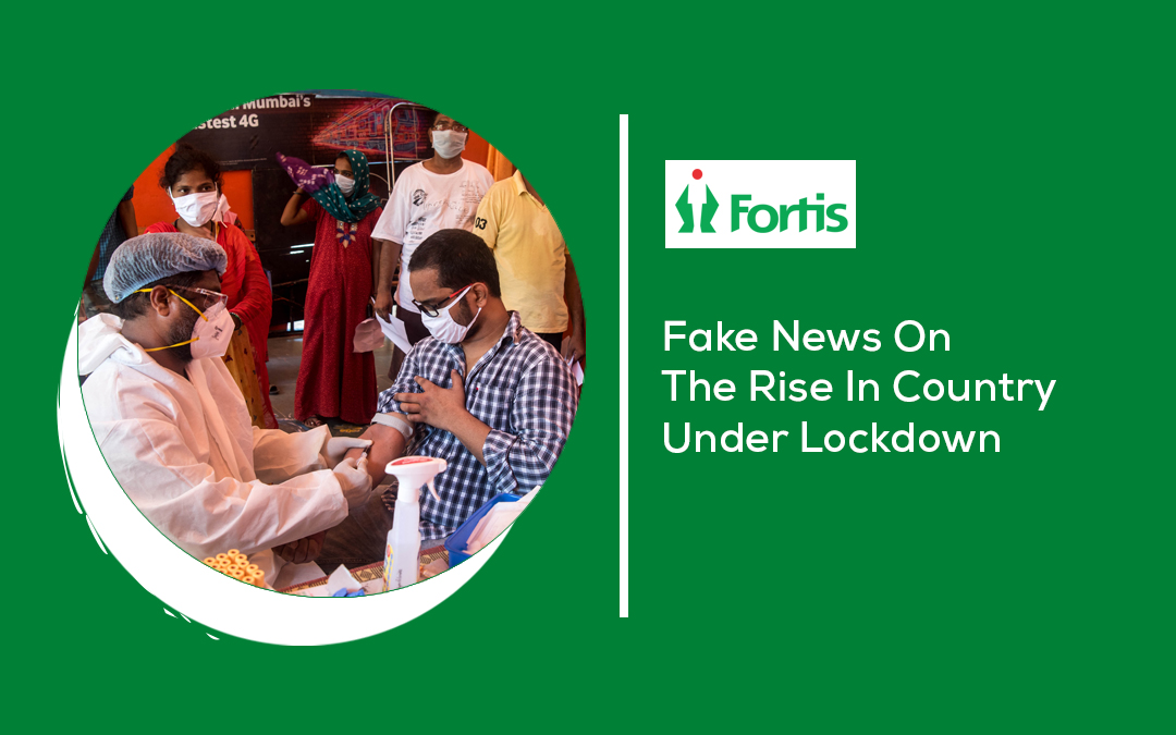 News - Fake News On The Rise In Country Under Lockdown