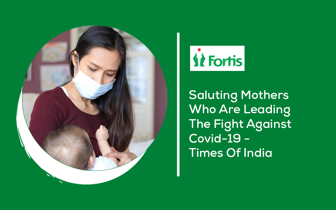 News - Saluting Mothers Who Are Leading The Fight Against Covid-19 - Times Of India