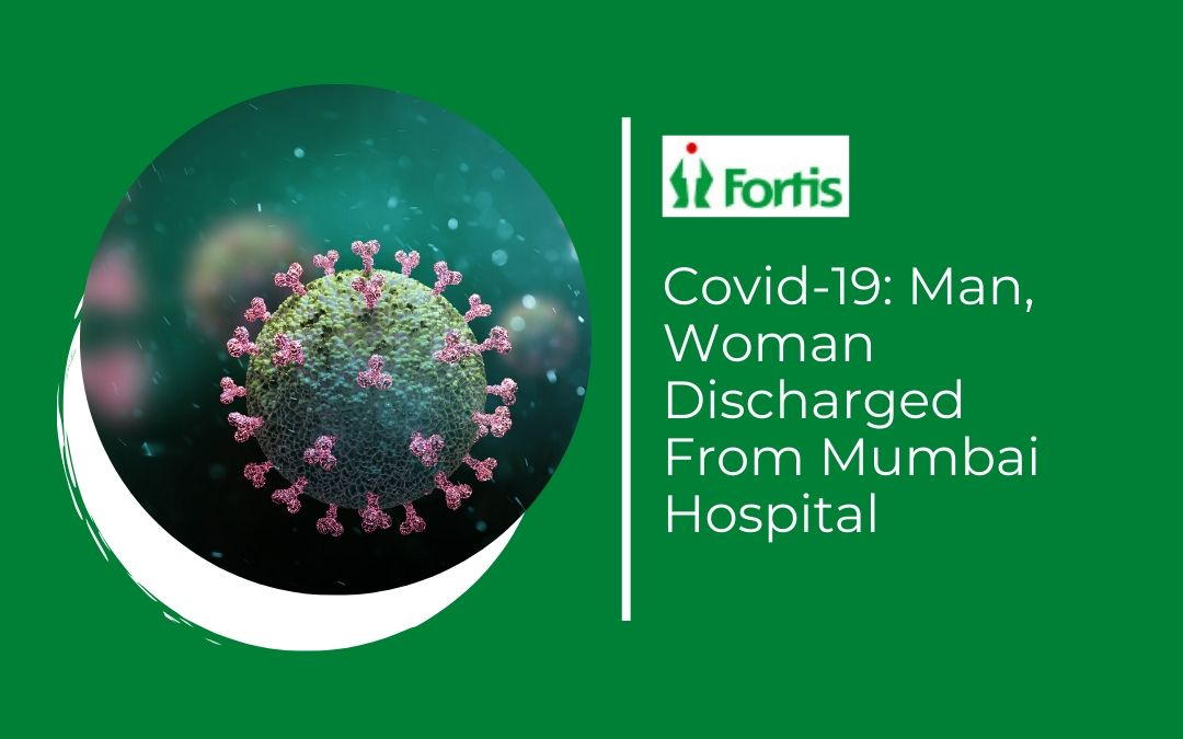 News - Covid-19: Man, Woman Discharged From Mumbai Hospital