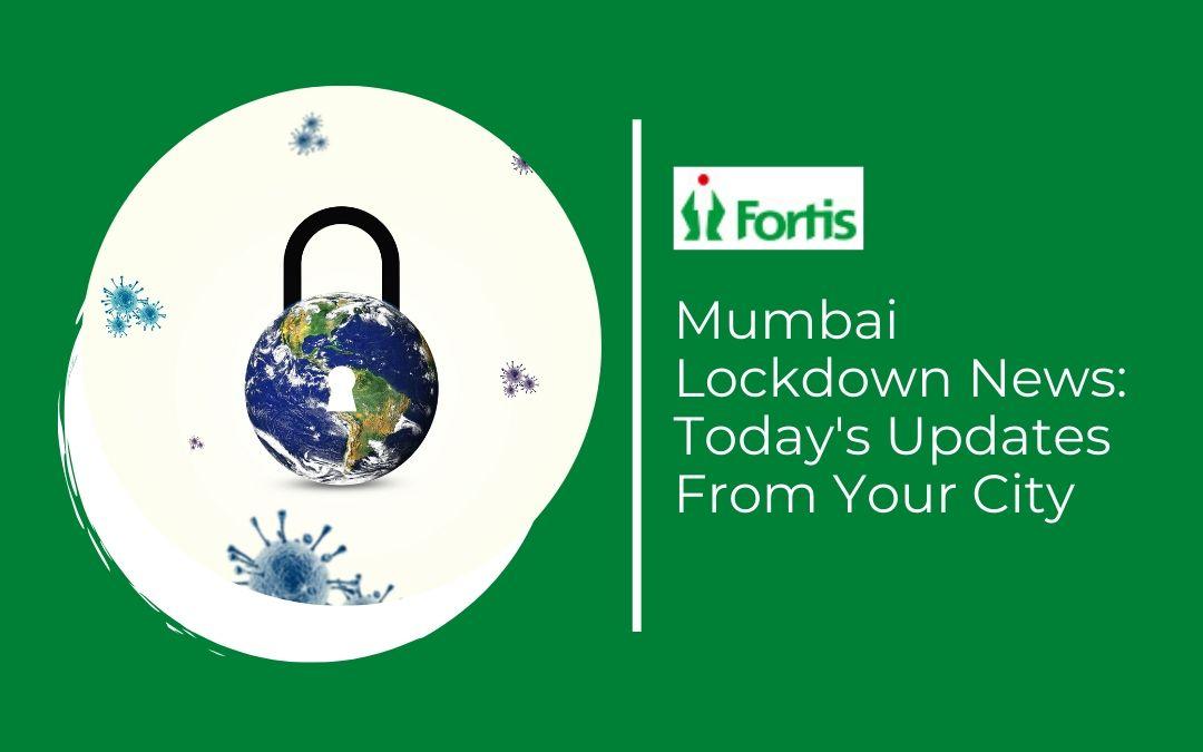 News - Mumbai Lockdown News: Today's Updates From Your City