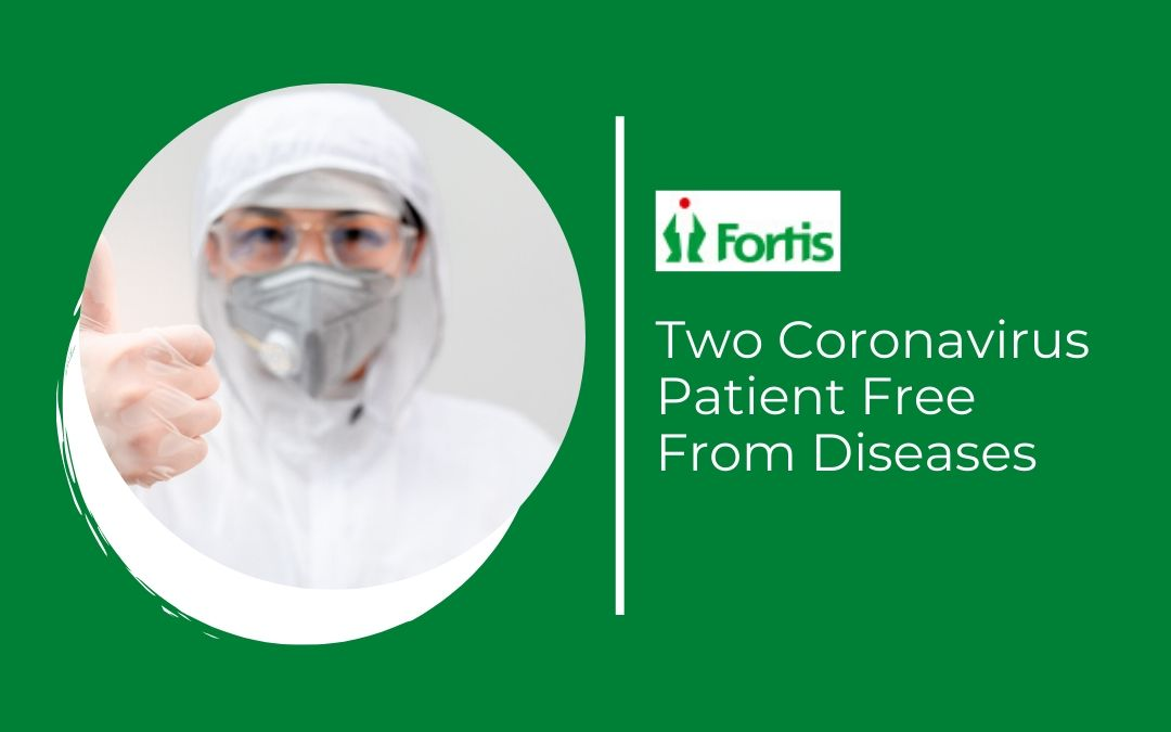 News - Two Coronavirus Patient Free From Diseases