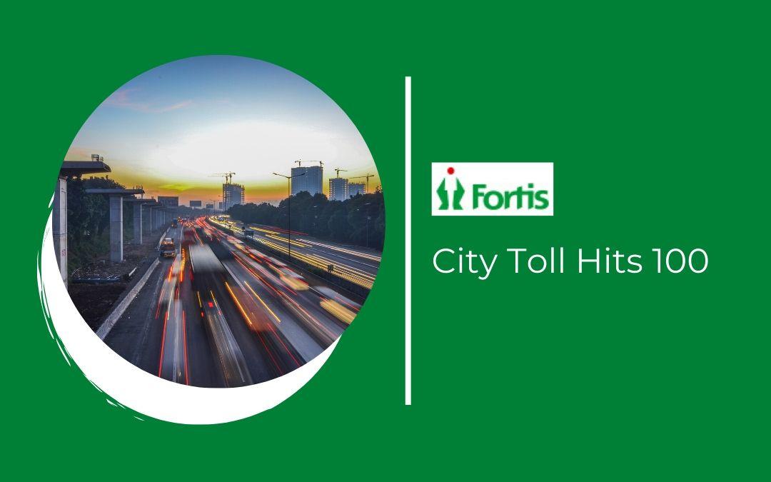 News - City Toll Hits 100
