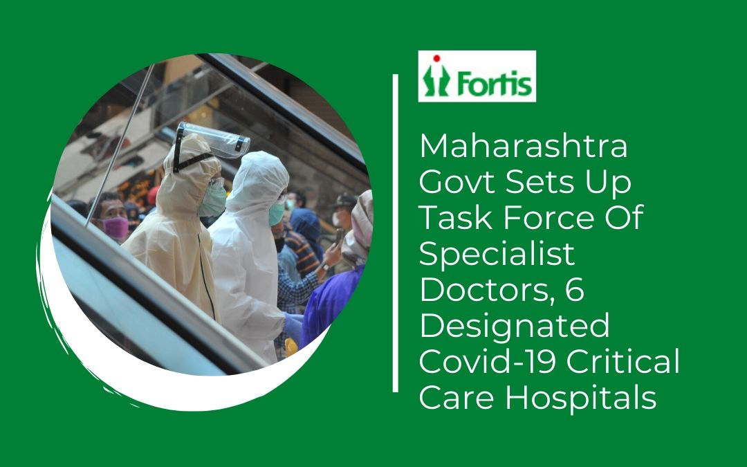 News - Maharashtra Govt Sets Up Task Force Of Specialist Doctors, 6 Designated Covid-19 Critical Care Hospitals