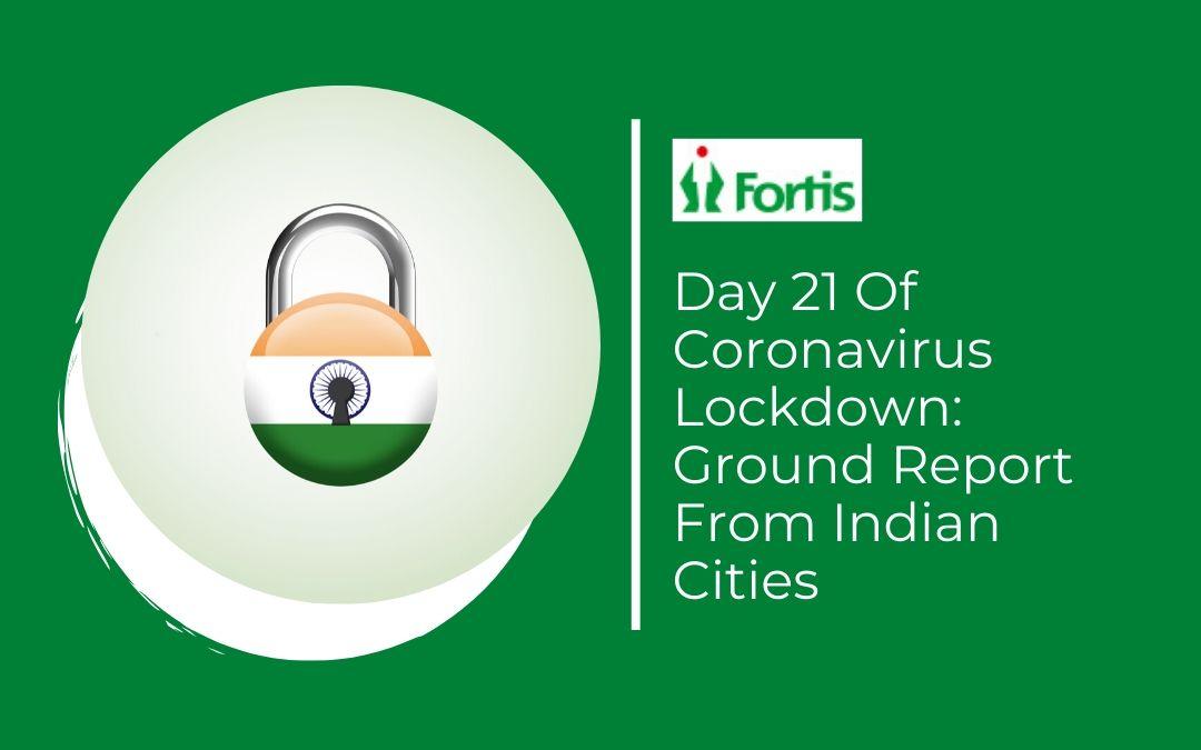 News - Day 21 Of Coronavirus Lockdown: Ground Report From Indian Cities