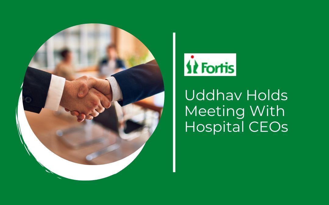 News - Uddhav Holds Meeting With Hospital Ceos