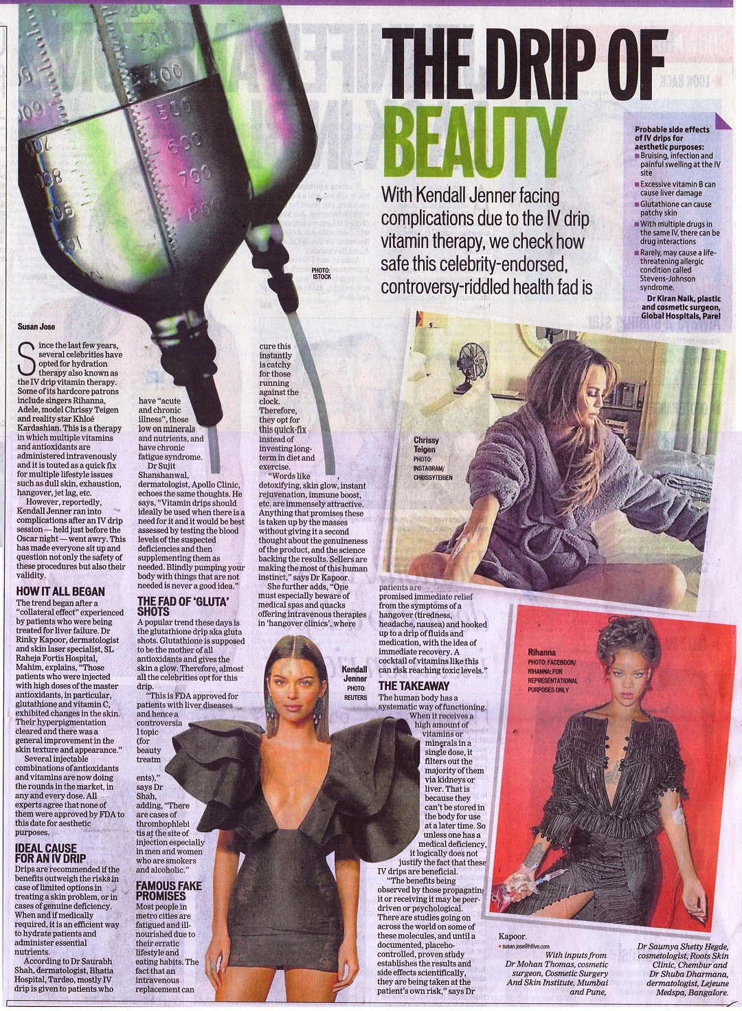 News - The Drip of beauty