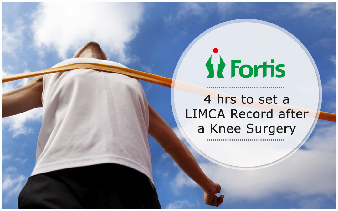 News - 4Hrs To Set a LIMCA After A Knee Surgery